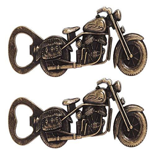 Saijer Motorrad Flaschenöffner, Vintage Zinklegierung Flaschenöffner für Bar Party Trinkspiel Geschenke für Männer