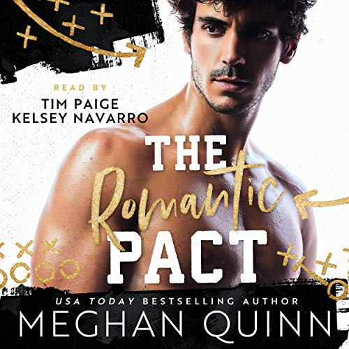 The Romantic Pact Audiobook By Meghan Quinn cover art