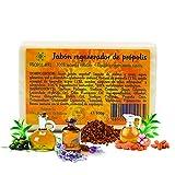 Pack x 4 Jabon propoleo x 100g c/u. Jabón ecológico nutritivo, regenerador, hidratante y antiséptico. Jabon artesanal apto para todo tipo de piel.
