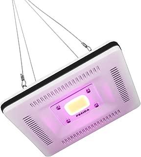 FECiDA Las mejores luces de cultivo LED, COB LED Lámpara de luz de cultivo, 300W CFL y HPS y CMH Luces de cultivo equivalentes, ultra delgadas y ligeras, espectro completo para plantas de interior