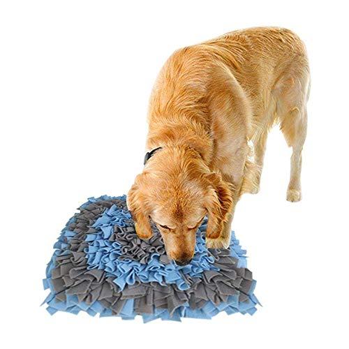 Maran Hunde-Futtermatte, Leckermatte für Hunde, für Schnuffelkissen, Nasenarbeit-Training, Futter-Decke, Puzzle-Spielzeug für alle Katzen, Hunde, lindert Stress