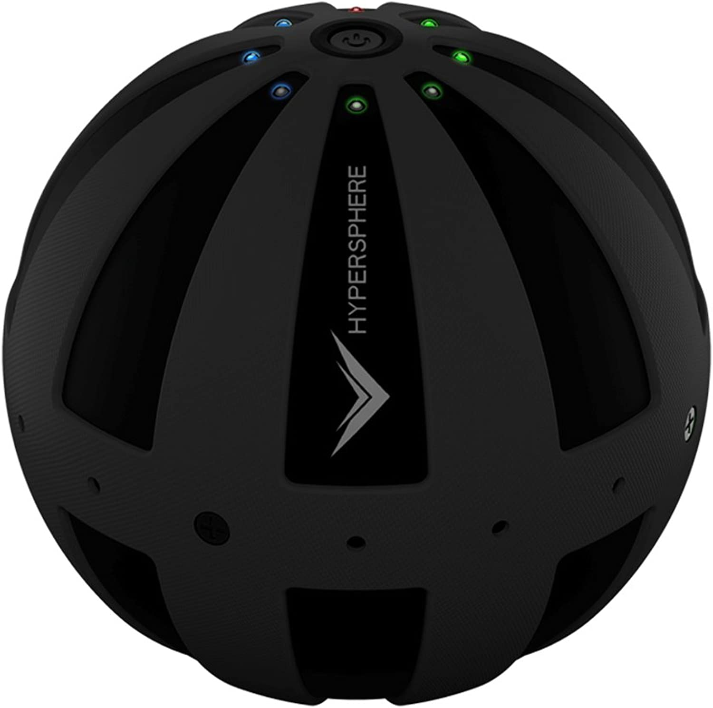 HYPERICE(ハイパーアイス) HYPERSPHERE 3段階振動付き ボディボール ブラック