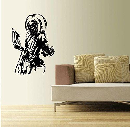 Iron Maiden Killers Music Home Decor Art Wall Vinyl Sticker 63 x 45 cm