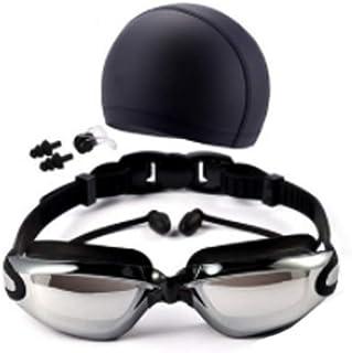 3b3919034b hlq HD Impermeable y Anti-Niebla Gafas de natación, Gafas para Hombres y  Mujeres