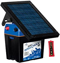 Premier Solar IntelliShock 60 Fence Energizer Kit - Includes 5-Light Wireless Fence Tester