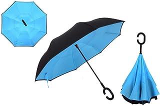 Parapluie Automatique Coupe-Vent TOPELEK Parapluie Pliant Construction en Acier Inoxydable Antirouille et Fibre de Verre pour Coupe-Vent Parapluie de Voyage /à S/échage Rapide