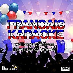 KARAOKÉ FRANÇAIS. Meilleures chansons françaises de karaoké. 2 Disques. 38 chansons. Paroles à l'écran. French Karaoke
