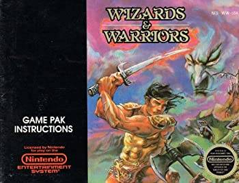 Wizards & Warriors NES Instruction Booklet  Nintendo NES Manual Only - No Game   Nintendo NES Manual
