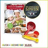 Backhilfe 'Kinderleichte Becherküche' - Leckere Backideen für Kinder - 4-tlg. Set