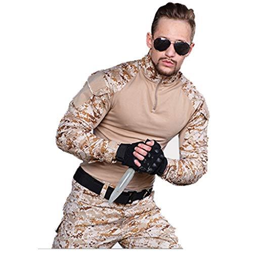 ZPWSNH Camouflage Heren Trainingskleding Sportkleding Slim Fit Jas Camouflage Broek Speciale Kikker Kostuum Jacht pak