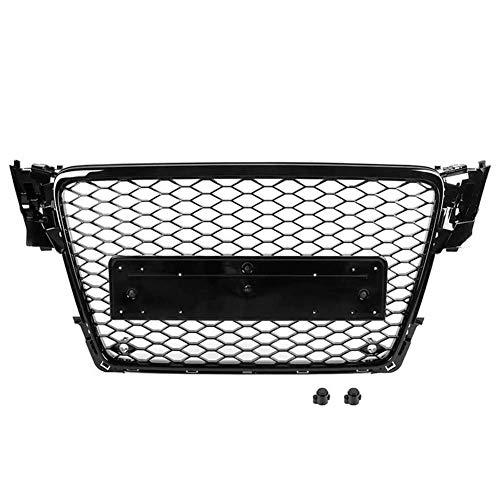 Xinshuo Rejilla del radiador de malla tipo ABS tipo panal de ABS para RS4 estilo A4 / S4 B8 2009-2012