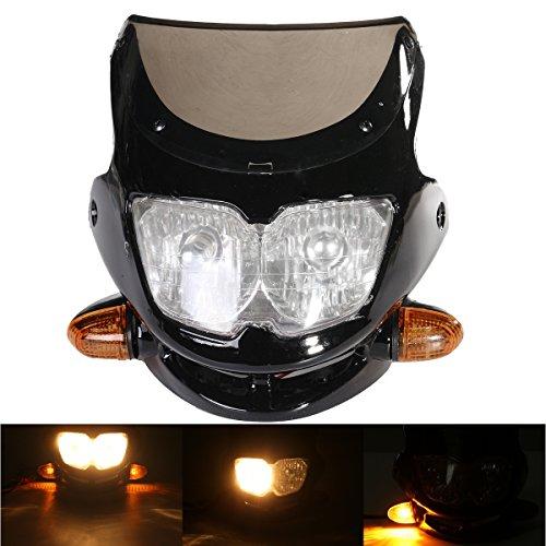 Alamor Motorrad Dirt Bike Streetfighter Scheinwerfer Montage Mit Dreh Signal