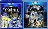 The Cat Returns / Secret World of Arrietty 4 Disc Blu Ray Set (Disney and Studio Ghibli)