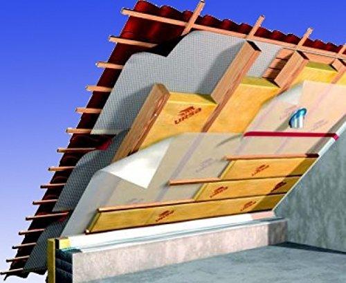 Dachpaket Dachdämmung Dämmung Dämmpaket für ca. 120 m² Dachausbau - Klemmfilz WLG 032 in 140 mm, frachtfrei