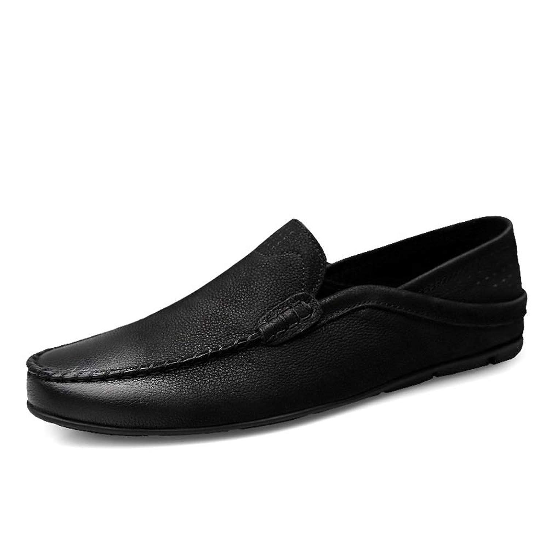 MUMUWU メンズ ビジネスシューズ モカシン 上質 紳士靴 カジュアル 通気性 男性用 靴 耐久性 ビジネスシューズ
