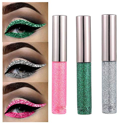 Edanta Glitter Liquid Eyeliner Shim…