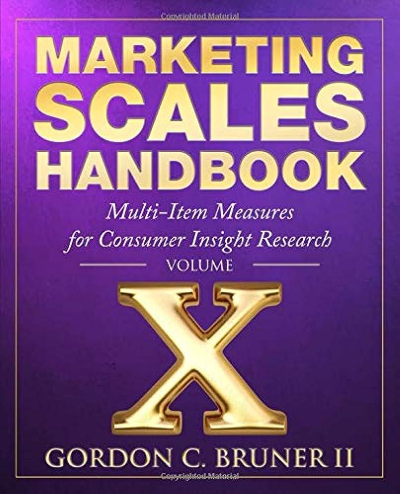 構成修羅場災難Marketing Scales Handbook: Multi-Item Measures for Consumer Insight Research (Volume 10)