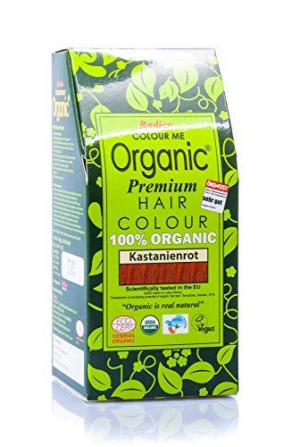RADICO Coloration pour cheveux biologique - Colour Me Organic - Couleur - Rouge Auburn - Auburn Red - 100g