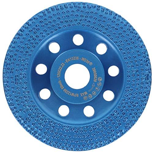 PRODIAMANT Profi Diamant-Schleiftopf mit Vacuum Diamantbelag Beschichtungen, Betonfarbe, Fassadenfarbe und Farbreste 125 mm x 22,2 mm