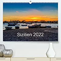 Sizilien 2022 / CH-Version (Premium, hochwertiger DIN A2 Wandkalender 2022, Kunstdruck in Hochglanz): Landschaften im Sueden Siziliens (Monatskalender, 14 Seiten )