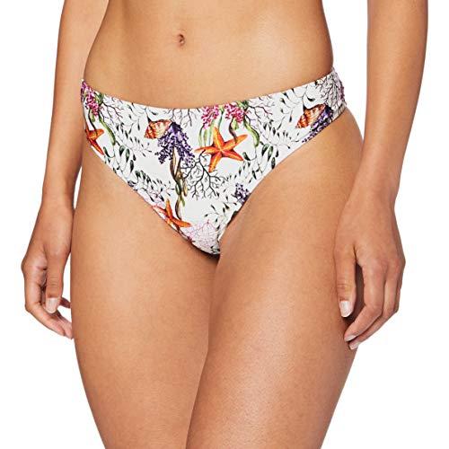 LOVABLE Parte Inferiore del Bikini, Stampa Marina, M Donna