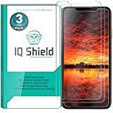 IQ Shield Glass Screen Protector Compatible with Apple iPhone Xs (5.8 inch)(3-Pack) Clear Tempered Ballistic Glass HD and Transparent Shatter-Proof Shield, 99% Touch Accuracy