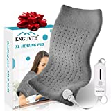 FoPcc Heating Pad, Electric Heat Pad for Back Pain and Cramps Relief, Ultra-Soft Hot Heated Pad with Moist & Dry Heat Therapy for Shoulder Neck Arm Leg Knee, 3 Heat Settings with Auto-Off (24'x12')