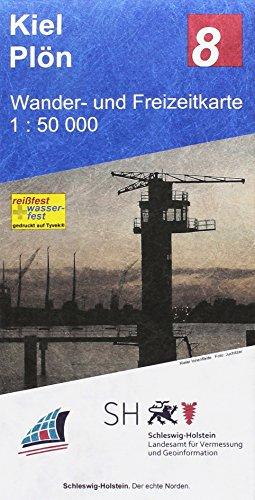 Kiel - Plön 1:50 000: Wander- und Freizeitkarte