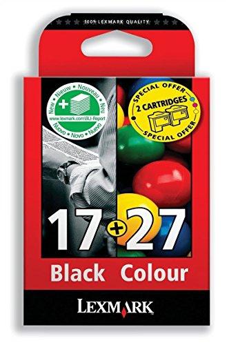 Combo Pack #17 + #27 - Druckerpatrone - 1 x Schwarz, Farbe (Cyan, Magenta, Gelb)