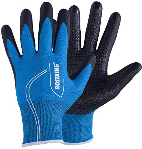 Rostaing 0746827992295 size 6 Canada Winter-Arbeitshandschuhe für kaltes Wetter, alle Größen: XS, S, M, L, XL, türkis/blau