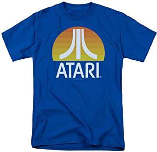 Atari Video Game Retro Logo Vintage Gaming Console T Shirt & Stickers (Small)
