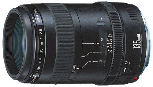 Canon EFレンズ EF135mm F2.8 単焦点レンズ 望遠