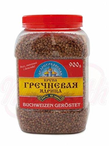 Buchweizen geröstet Belozerkovskaja 900g Dose