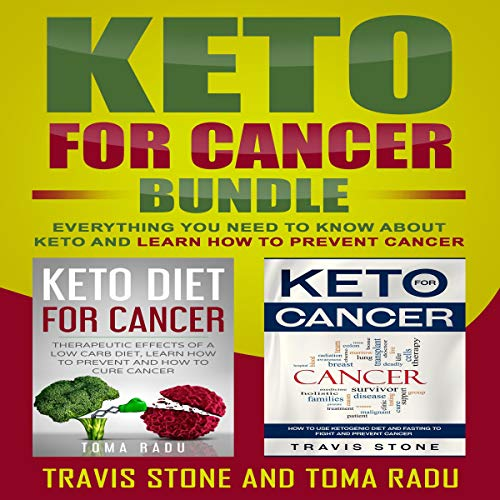 Keto for Cancer Bundle audiobook cover art