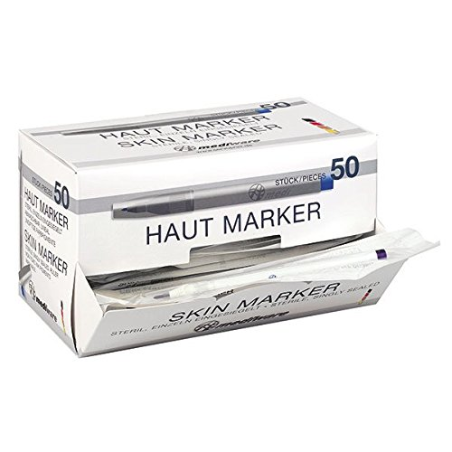 Mediware H7 00350 Hautmarker, Standard, Mehrwertpackung (52-er Pack)