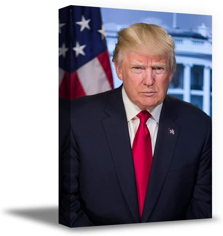 Awkward Max 43% OFF Styles Trump Classic Portrai Photo Cheap Canvas Portrait