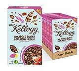 W.K KELLOGG Crunchy Müsli Cacao & Hazelnut ohne Zuckerzusatz, vegan & palmölfrei, 5er Pack (5 x...