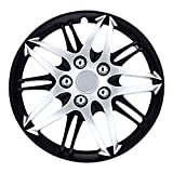 Pilot Automotive WH544-16C-BLZ Silver Universal Wheel Covers Hubcaps 16 inch Replacement Cover (Set of 4) for Stock Rims Fits Cars from Nissan, Honda, Toyota, Ford, Chevy, Mazda and Others
