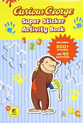 Curious George Super Sticker Activity Book