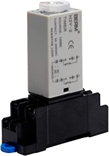 H3Y-2 DC12V 10S 0-10Seconds Time Delay Relay Solid State Timer Relay DPDT with Socket Base