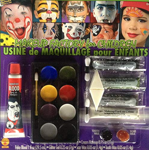 Horror-Shop Ensemble de Maquillage Halloween Kinder