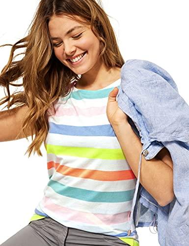 Cecil Damen 316360 T-Shirt, Pure Off White, XXL