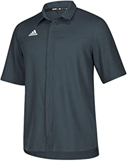 adidas Team Iconic Full Button Polo - Men's Multi-Sport