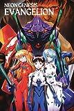 Neon Genesis Evangelion Shinji Ikari Asuka Misato Katsuragi: Notebook/notepad/diary/journal