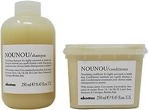Bundle-2 Items : DAVINES Essential Haircare Shampoo Nounou