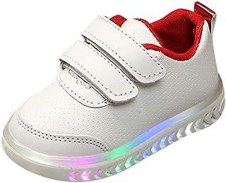 DAY8 Basket Fille Montante Scratch Mode LED Lumineuse Automne Chaussure Garcon Bebe Premier Pas Cher Hiver Basket Enfants ...