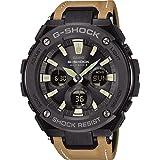 CASIO Reloj Analógico-Digital para Hombre Correa en Cuero GST-W120L-1BER