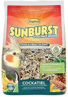 Higgins Sunburst Gourmet Food Mix for Cockatiels