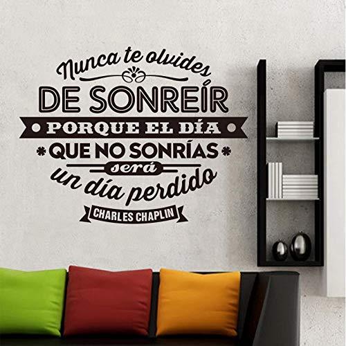 España Charles Chaplin vinilo pared pegatina arte sala de estar y dormitorio decoración del hogar decoración del hogar