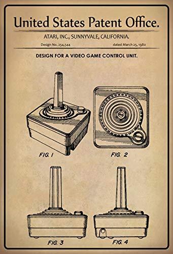 Cartel de Chapa 30 x 20 cm U.S. Patent Office. - Diseño...
